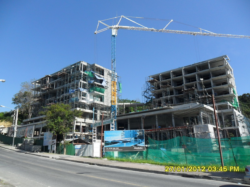 January 2012 absolute twin sands resort spa for Spa construction