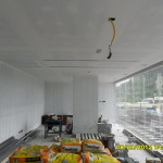 14.Install_ceiling_at_fitness_room
