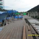 21.Install_wooden_floor_of_pool_deck