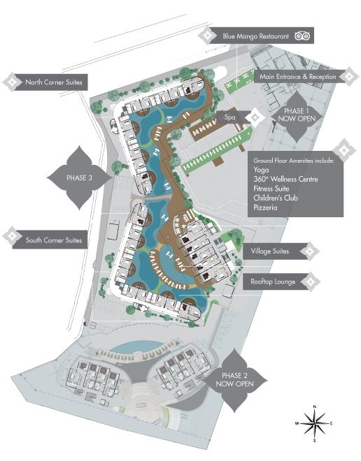 Phase III siteplan
