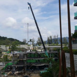 26_View-From-Village-Suites-E401-side-terrace-North-Corner-Suites-behind-crane